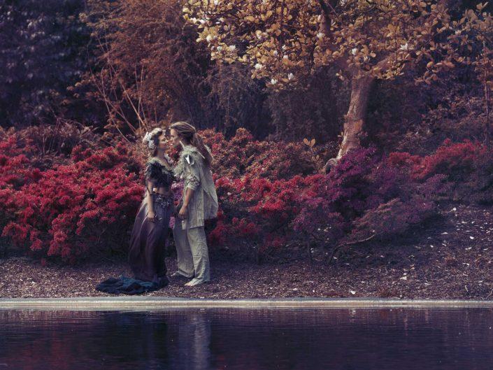 Love Tales - Elvire Van Ooteghem - fotoshoot-koppel-dromerig-sprookje-fairytale-bloemen-1