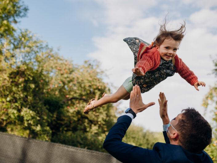 trouwfotograaf kinderen spontaan