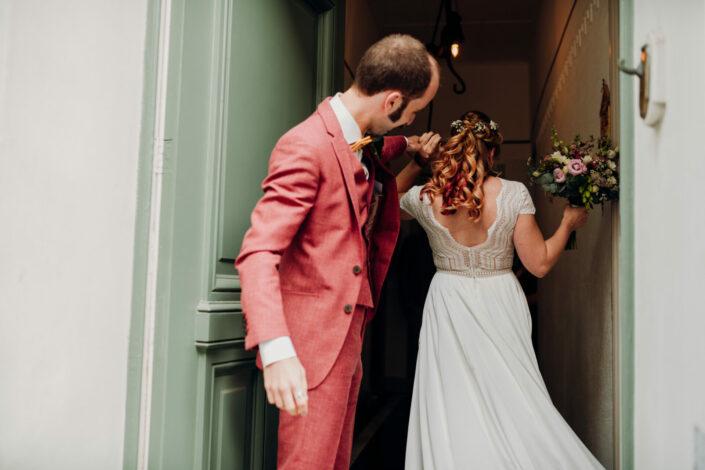 trouwfotograaf gent huwelijksfotograaf first look