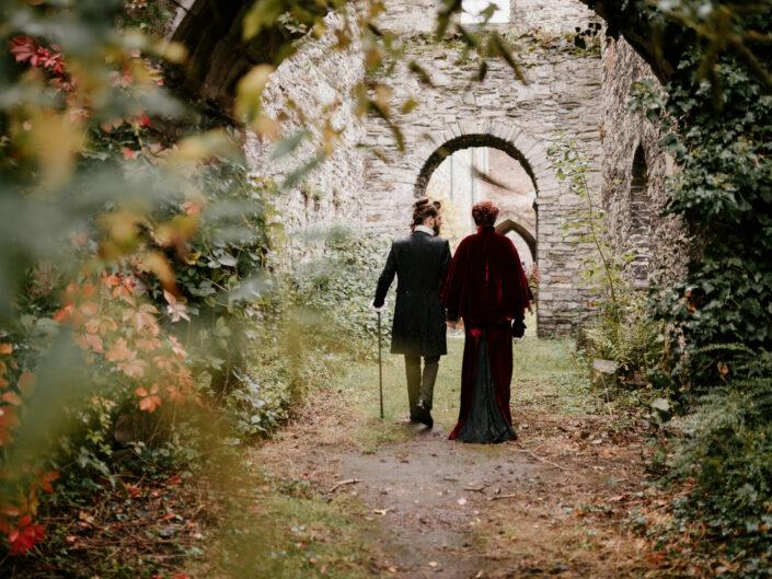 trouwfotograaf huwelijksfotograaf belgian wedding photographer gothic fineart