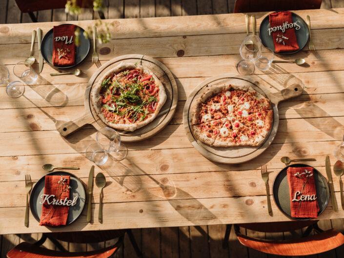 trouwfotograaf pizza