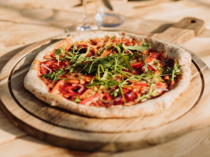 pizza trouwfotograaf origineel eten