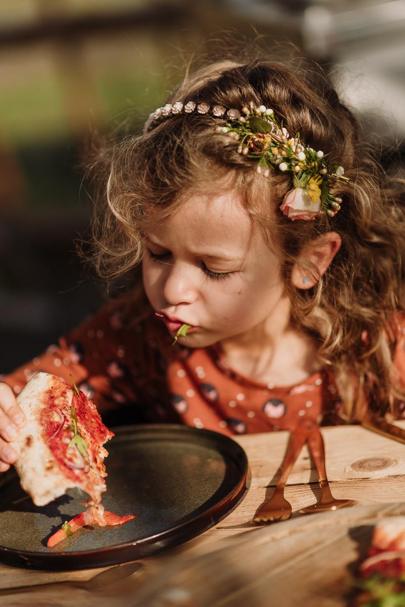kindermenu trouwen kinderen trouwfeest pizza