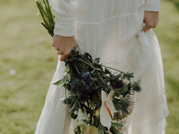 bruidsboeket trouwen trouwfotograaf huwelijksfotograaf
